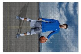 "Пазл 73.5 x 48.8 (1000 элементов) ""Stephen Curry"" - баскетбол, nba, нба, golden state warriors, стефен карри"