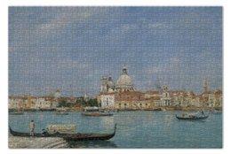 """Пазл 73.5 x 48.8 (1000 элементов) """"Венеция: Санта-Мария делла Салюте"""" - картина, буден"""