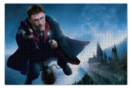 "Пазл 73.5 x 48.8 (1000 элементов) ""Гарри Поттер"" - сказка, гарри поттер, волшебство, магия, хогвардс"