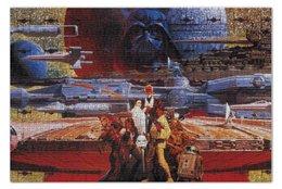 "Пазл 73.5 x 48.8 (1000 элементов) ""Star wars"" - darth vader, звездные войны, дарт вейдер, стар варс, han solo"