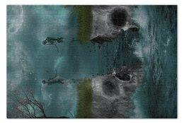 """Пазл 73.5 x 48.8 (1000 элементов) """"Dark Art"""" - skull, череп, любовь, skeleton, скелет"""