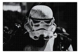 """Пазл 73.5 x 48.8 (1000 элементов) """"Штурмовик"""" - star wars, stormtrooper, штурмовик, звездный войны, стар варс"""