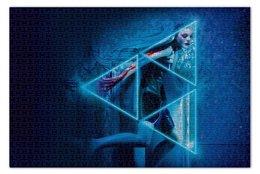 """Пазл 73.5 x 48.8 (1000 элементов) """"Неоновый демон"""" - девушка, мечта, модель, эль фаннинг, neon demon"""