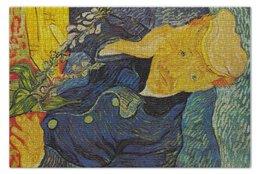 "Пазл 73.5 x 48.8 (1000 элементов) ""Портрет доктора Гаше (Винсент ван Гог)"" - картина, ван гог"