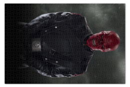 """Пазл 73.5 x 48.8 (1000 элементов) """"Красный череп"""" - комиксы, marvel, марвел, капитан америка, гидра"""