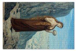"""Пазл 73.5 x 48.8 (1000 элементов) """"Мария Магдалина в пустыне"""" - картина, сесиль"""