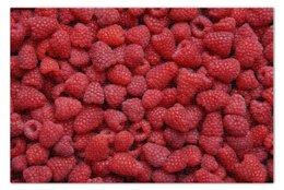 """Пазл 73.5 x 48.8 (1000 элементов) """"Малина"""" - ягоды, малина, raspberry"""