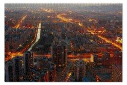 "Пазл 73.5 x 48.8 (1000 элементов) ""Пекин"" - китай, china, beijing"
