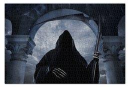 """Пазл 73.5 x 48.8 (1000 элементов) """"Death"""" - готика, смерть, коса, reaper"""