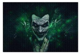 """Пазл 73.5 x 48.8 (1000 элементов) """"Джокер"""" - комиксы, бэтмен, dc comics, batman, joker"""