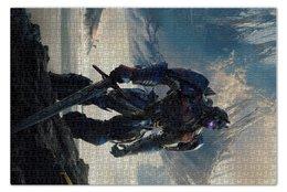 """Пазл 73.5 x 48.8 (1000 элементов) """"Трансформеры"""" - фантастика, роботы, transformers, трансформеры, автоботы"""