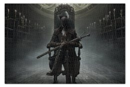 "Пазл 73.5 x 48.8 (1000 элементов) ""Bloodborne"" - рпг, бладборн, слэшер"