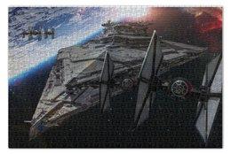 """Пазл 73.5 x 48.8 (1000 элементов) """"Флот Первого Ордена"""" - star wars, звездные войны"""