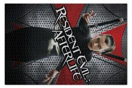 "Пазл 73.5 x 48.8 (1000 элементов) ""Обитель зла"" - зомби, фантастика, resident evil, вирус, милла йовович"