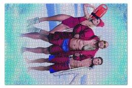 """Пазл 73.5 x 48.8 (1000 элементов) """"Спасатели Малибу"""" - лето, море, комедия, baywatch, дуэйн джонсон"""