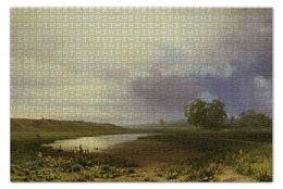"""Пазл 73.5 x 48.8 (1000 элементов) """"Мокрый луг"""" - картина, василь"""