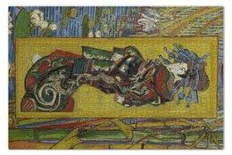 "Пазл 73.5 x 48.8 (1000 элементов) ""Куртизанка (Винсент Ван Гог)"" - картина, ван гог"