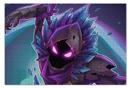 "Пазл 73.5 x 48.8 (1000 элементов) ""Raven"" - games, игры, ворон, fortnite, фортнайт"