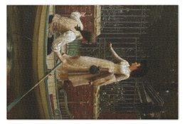 "Пазл 73.5 x 48.8 (1000 элементов) ""Бегство влюбленных (Эдмунд Лейтон)"" - картина, лейтон"