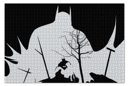 "Пазл 73.5 x 48.8 (1000 элементов) ""Бэтмен"" - комиксы, batman, бэтмен, dc, dc comics"