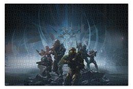 "Пазл 73.5 x 48.8 (1000 элементов) ""Halo "" - halo, хало, guardians"