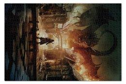 """Пазл 73.5 x 48.8 (1000 элементов) """"Хоббит"""" - дракон, кино, властелин колец, hobbit, фродо"""
