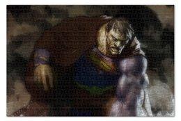 "Пазл 73.5 x 48.8 (1000 элементов) ""Бизарро"" - комиксы, superman, супермэн, dc comics, bizarro"