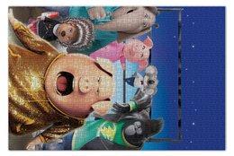 """Пазл 73.5 x 48.8 (1000 элементов) """"Зверопой"""" - музыка, животные, мультфильм, песня, зверопой"""