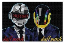 """Пазл 73.5 x 48.8 (1000 элементов) """"Daft punk"""" - электро, дафт панк, ги-мануэль де омем-кристо, тома бангальтер"""