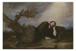 "Пазл 73.5 x 48.8 (1000 элементов) ""Сон Иакова (Хосе де Рибера)"" - картина, рибера, барокко"