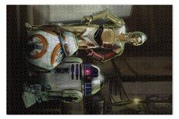 "Пазл 73.5 x 48.8 (1000 элементов) ""Star Wars"" - кино, фантастика, star wars, звездные войны, дарт вейдер"