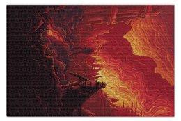 "Пазл 73.5 x 48.8 (1000 элементов) ""Звездные войны"" - звездные войны, кино, фантастика, дарт вейдер, star wars"