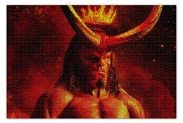 """Пазл 73.5 x 48.8 (1000 элементов) """"Hellboy"""" - comics, комиксы, хеллбой, dark horse comics, хэллбой"""