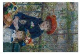 "Пазл 73.5 x 48.8 (1000 элементов) ""Две сестры (Пьер Огюст Ренуар)"" - картина, ренуар"