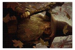 """Пазл 73.5 x 48.8 (1000 элементов) """"Гэндальф"""" - кино, властелин колец, хоббит, hobbit, фродо"""
