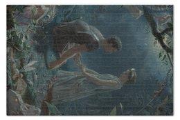 """Пазл 73.5 x 48.8 (1000 элементов) """"Гермия и Лизандр (Сон в летнюю ночь)"""" - картина, шекспир, симмонс"""