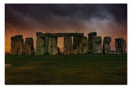 "Пазл 73.5 x 48.8 (1000 элементов) ""Стоунхендж"" - лондон, uk, великобритания, stonehendge"