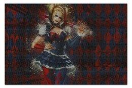 "Пазл 73.5 x 48.8 (1000 элементов) ""Харли Квинн"" - комиксы, джокер, бэтмен, харли квинн, dc comics"