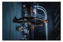 """Пазл 73.5 x 48.8 (1000 элементов) """"Звездные войны - По Дамерон"""" - кино, фантастика, star wars, звездные войны, дарт вейдер"""