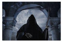 "Пазл 73.5 x 48.8 (1000 элементов) ""Gothic Reaper"" - готика, смерть, жнец"