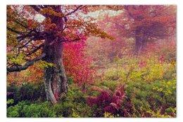 """Пазл 73.5 x 48.8 (1000 элементов) """"Осенний пейзаж"""" - осень, деревья, парк"""