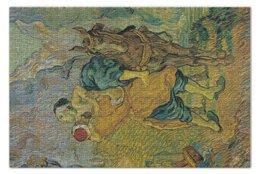 "Пазл 73.5 x 48.8 (1000 элементов) ""Добрый самаритянин (Винсент Ван Гог)"" - картина, ван гог, живопись"