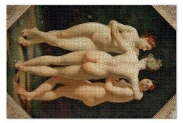 """Пазл 73.5 x 48.8 (1000 элементов) """"Три Грации (Хариты)"""" - картина, реньо"""