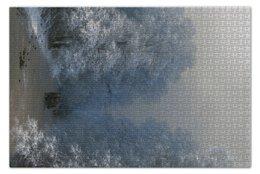 "Пазл 73.5 x 48.8 (1000 элементов) ""Зимний пейзаж (Айвазовский)"" - картина, айвазовский"