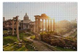 "Пазл 73.5 x 48.8 (1000 элементов) ""Rome "" - италия, архитектура, рим, развалины"