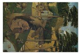"""Пазл 73.5 x 48.8 (1000 элементов) """"Искушение святого Антония (картина Босха)"""" - картина, босх"""