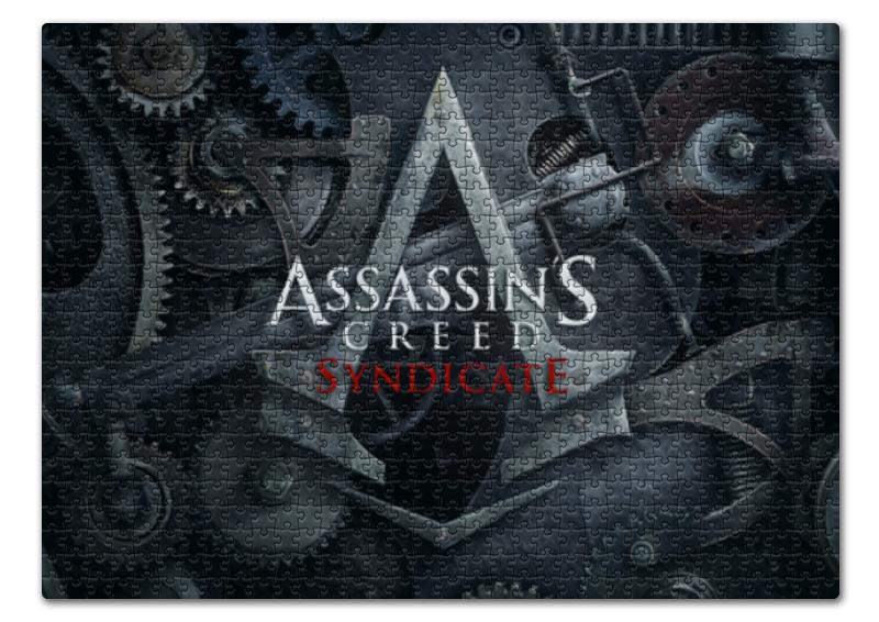 Пазл 43.5 x 31.4 (408 элементов) Printio Assassins creed / крэдо убийцы