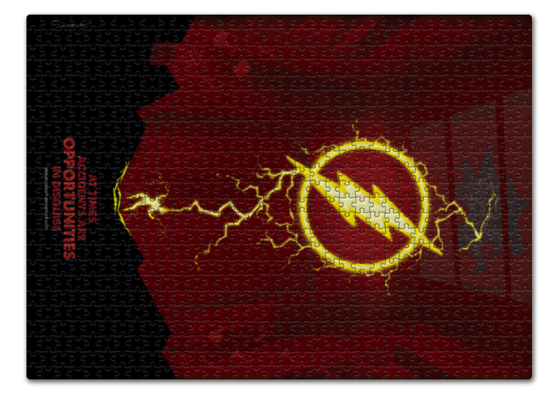 Пазл 43.5 x 31.4 (408 элементов) Printio Flash/флэш