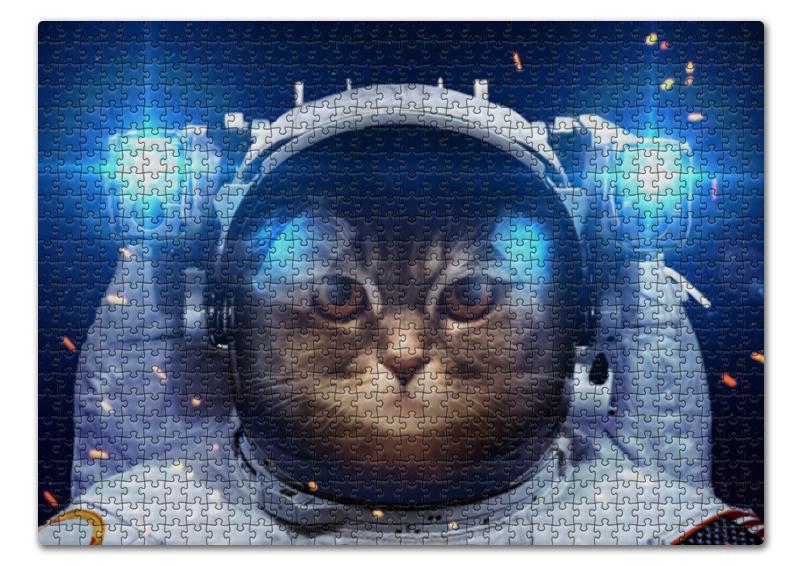 Пазл 43.5 x 31.4 (408 элементов) Printio Котосмонавт