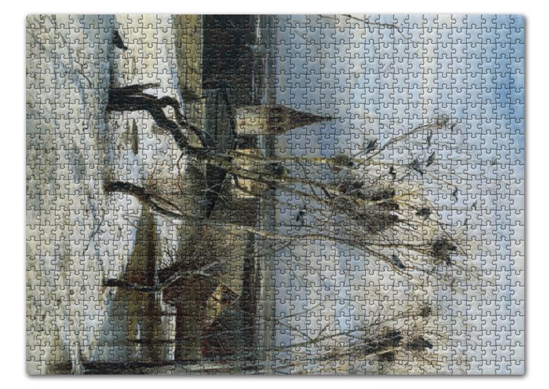 Пазл 43.5 x 31.4 (408 элементов) Printio Грачи прилетели (алексей саврасов) цена